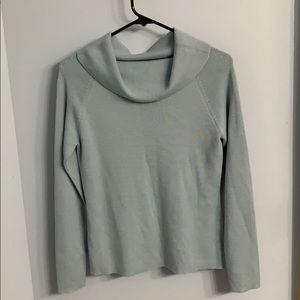 Loft Size M Blue Sweater